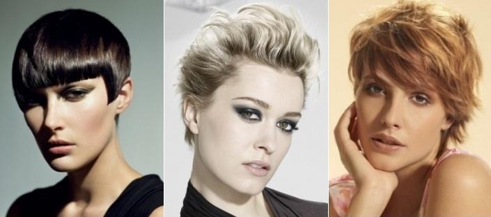 Стильные стрижки и прически на короткие волосы: фото 6