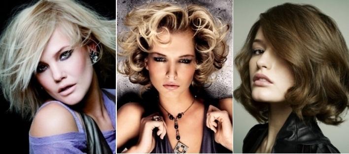 Прически для средних волос 30 40 лет