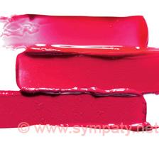 Розовые оттенки красной помады
