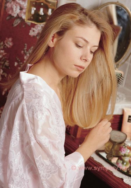 Уход за сухими волосами и кожей головы