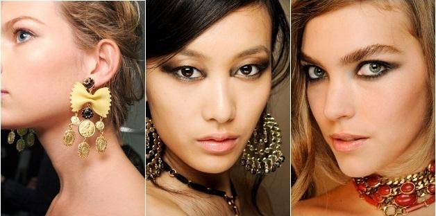 Новый Год 2012 что одеть серьги