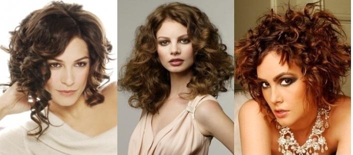 Укладка волос для кудрявых волос