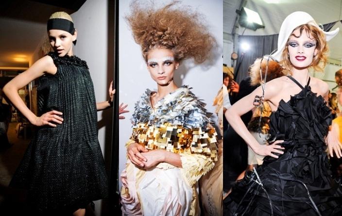 Новый Год 2012 прическа макияж платье