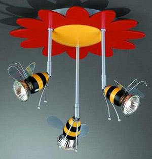 светильники для детской комнаты люстра