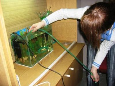 Как ухаживать за аквариумом чистка почвы
