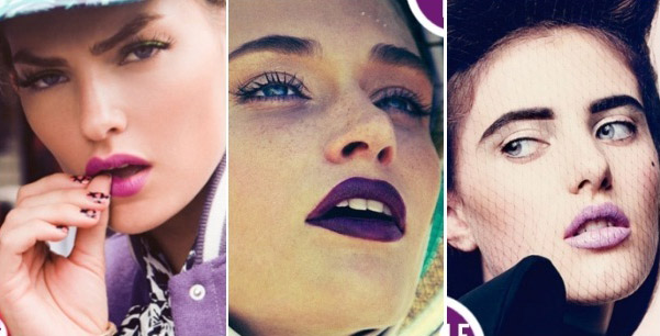Как сделать праздничный макияж губ