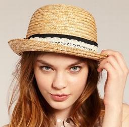 соломенная шляпка летняя