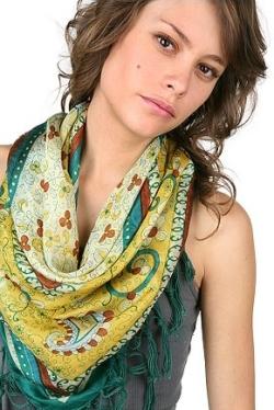 платок в стиле хиппи