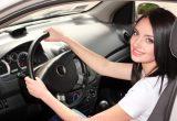 Фитнес упражнения в машине