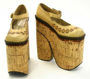 дизайнерская обувь на платформе