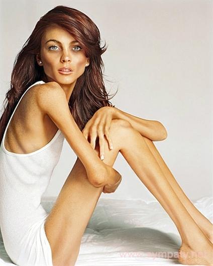 очень худые девушки женщины голые фото