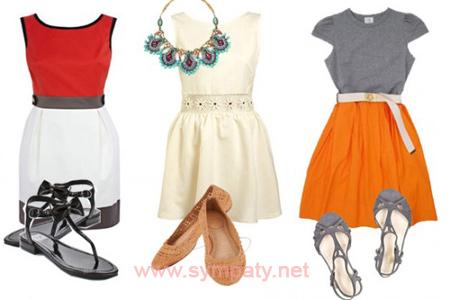 офисные платья летом