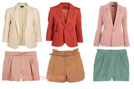 Шорты в офис - летняя замена юбки
