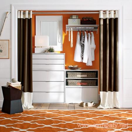 дизайн гардеробных комнат-1
