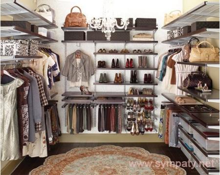 дизайн гардеробных комнат-2