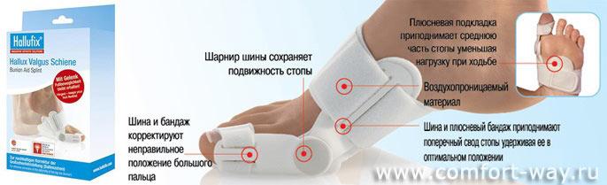косточки у больших пальцев ног