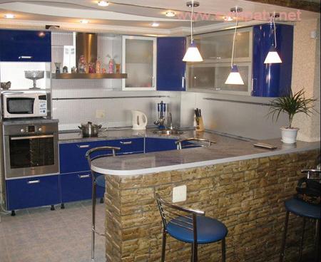 как увеличить кухню за счет балкона