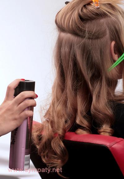 Укладка на длинные волосы с объемом как сделать