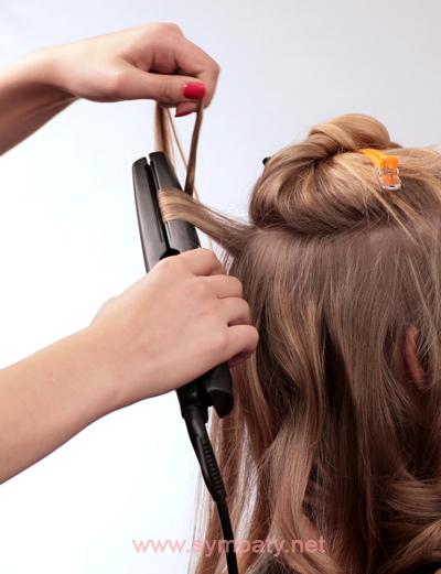 Мастер класс укладка волос