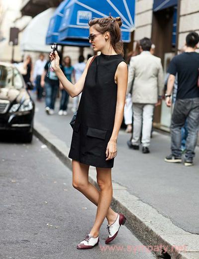 как носить черное платье в повседневной жизни