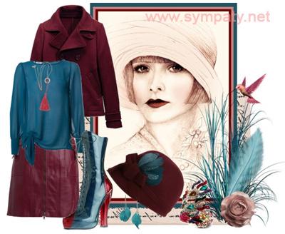 как носить шапку федору зимой