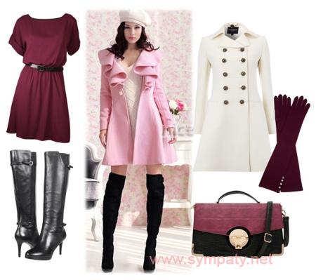 зимние ботфорты верхняя одежда