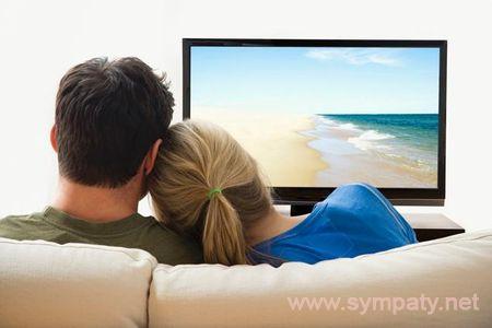 похудеть перед телевизором