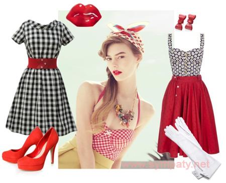 Стиль винтаж в одежде 50 годы
