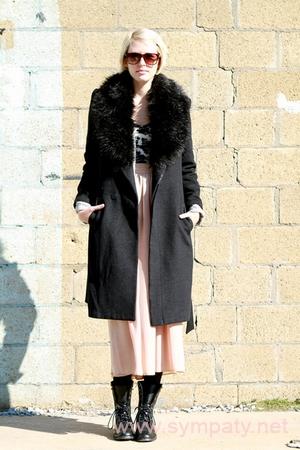 зимняя длинная юбка-3