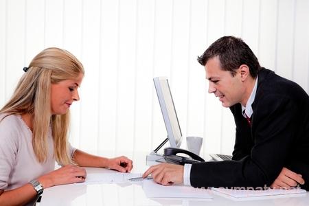 муж и жена работают вместе
