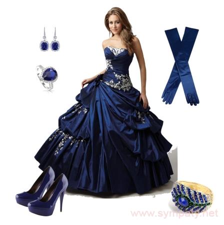 какое платье на выпускной