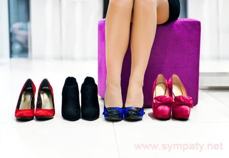 какого цвета обувь