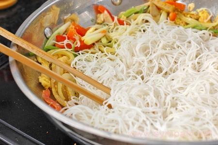 рисовые макароны