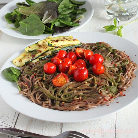 гречневые макароны