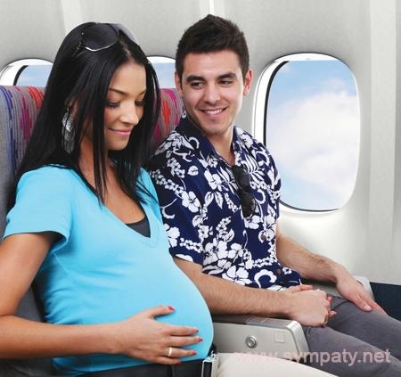 S7 перелет беременной