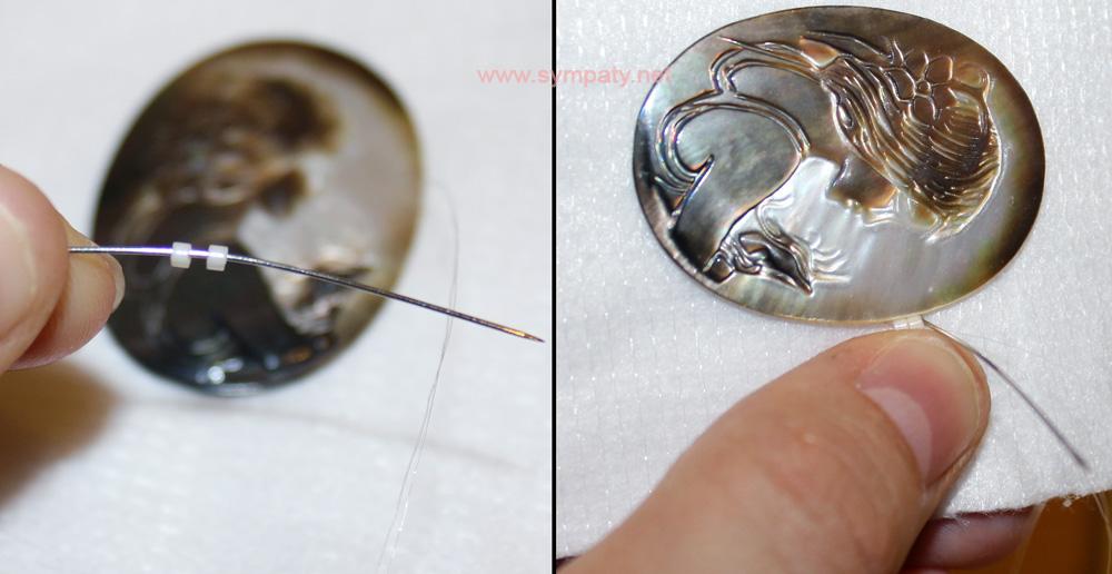 вышивка бисером как сделать кулон своими руками