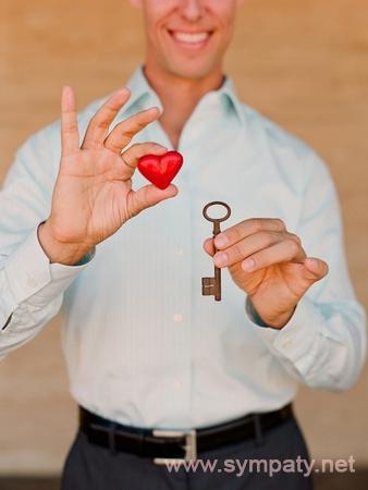 открыть сердце мужчины