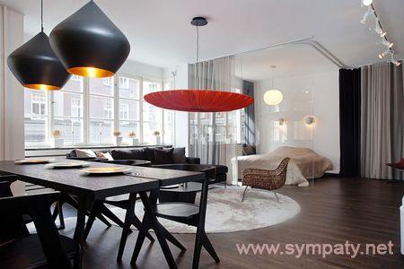 дизайн интерьера квартиры-студии