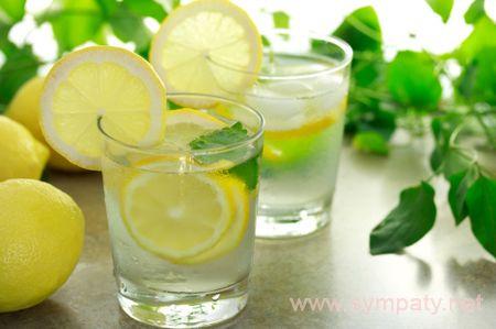 как похудеть на лимонной воде