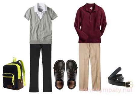 школьная модная одежда