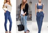 Самые популярные фасоны джинсов для девушек