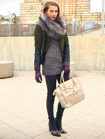 стильно одеваться зимой