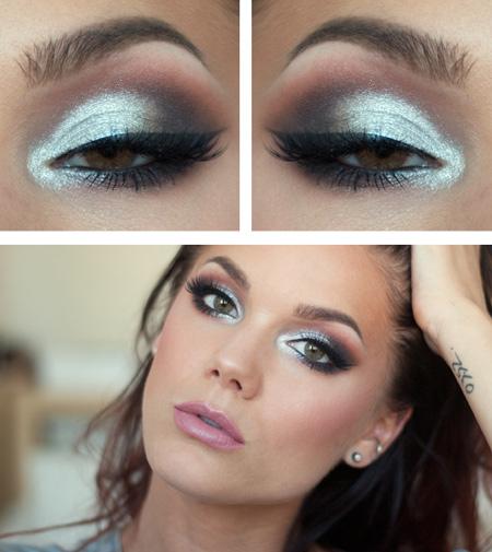романтический макияж для зеленых глаз