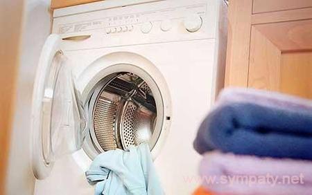 почистить стиральную машину от накипи