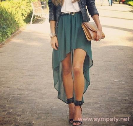 с чем носить юбку летом