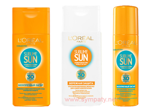 L'Oreal Sublime Sun spf 30