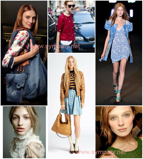 стиль одежды для цветотипа весна
