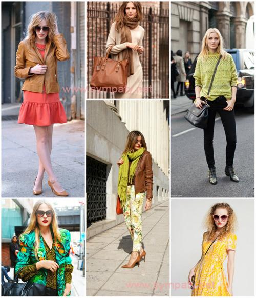 одежда для цветотипа весна