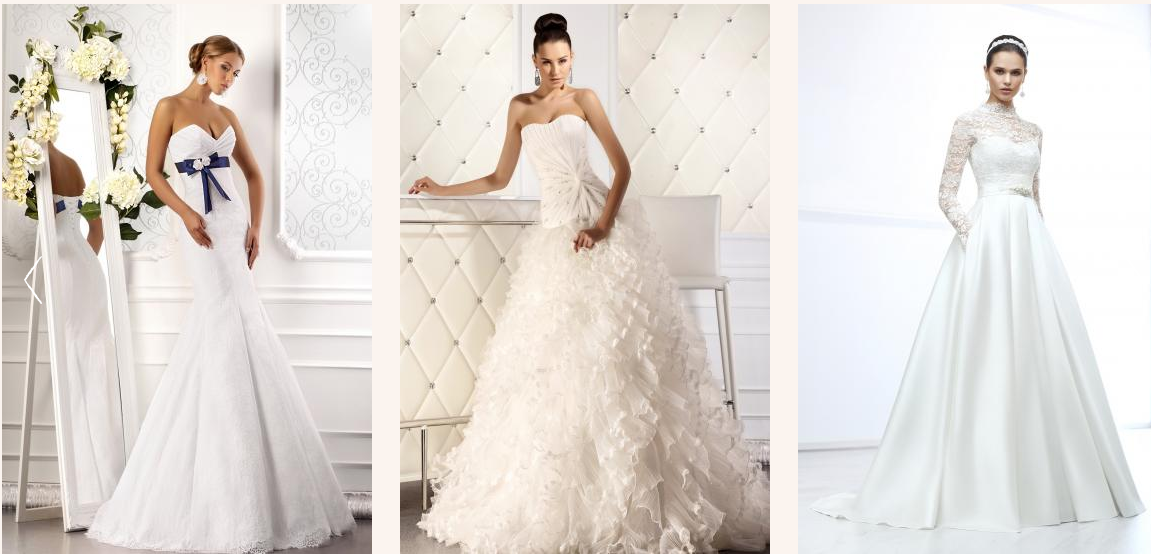 свадебные платья 2014