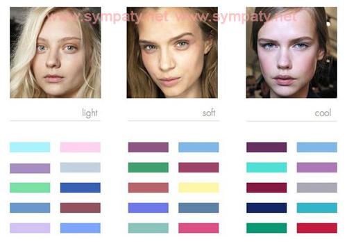 цветовая гамма женщинам летнего типа